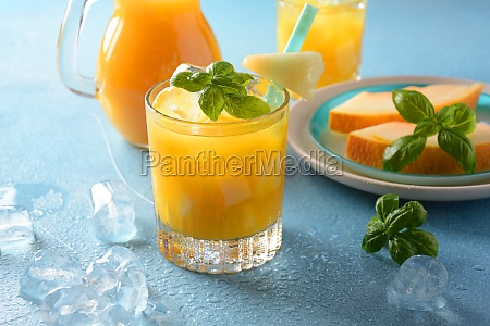 refreshing drinks and citrus juices