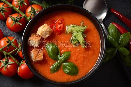 andalusian gazpacho red tomato cold gazpacho