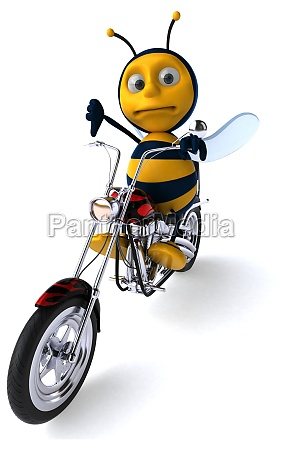 fun bee 3d illustration