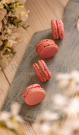 french macarons airy crisp little puffs