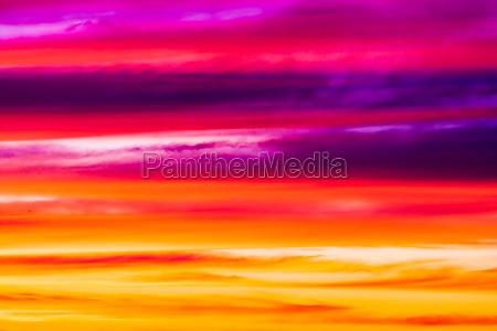 fiery orange sunset sky beautiful sky