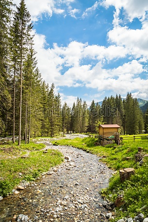 nature landscape for adventure hiking and