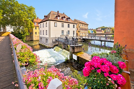 bamberg scenic view of old town