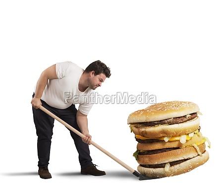lift giant sandwich