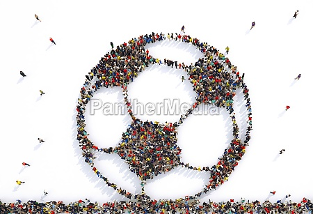 many people together in a soccer