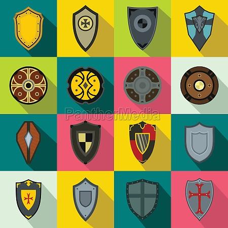 shields set icons