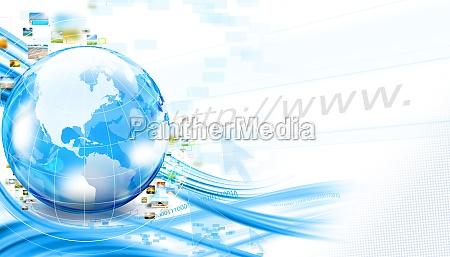 business world background