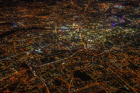 london night view as seen from