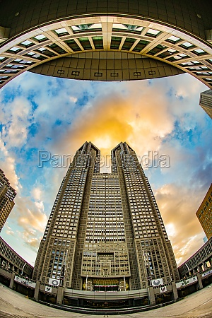 tokyo metropolitan government and the evening