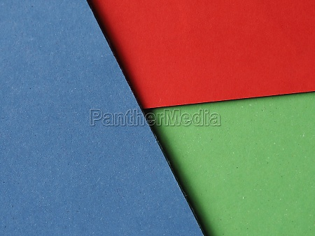 red green and blue cardboard texture
