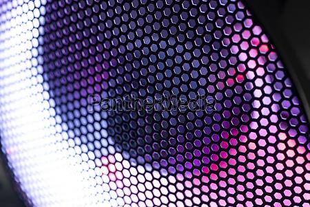 fan led light pc network technology
