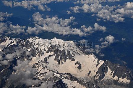 the alps in birth view