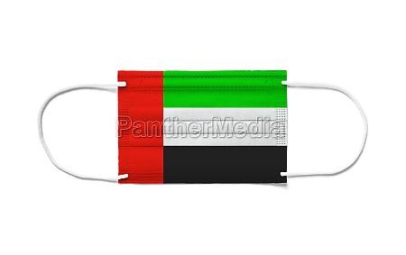 flag of united arab emirates on