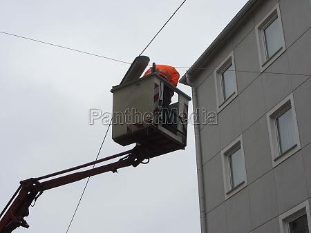 street lighting repair and maintenance