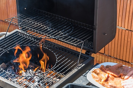 grill preparation on your own grill