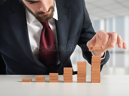 financial staircase