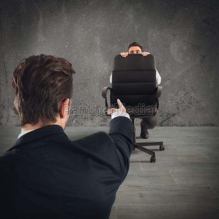 fired afraid employee