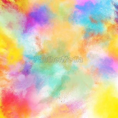 spring colourful burst