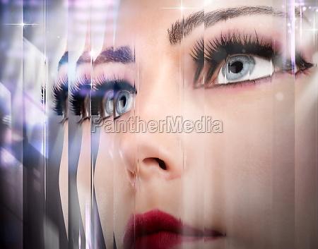 beauty mirror effect