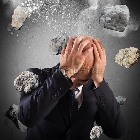 boulders rain