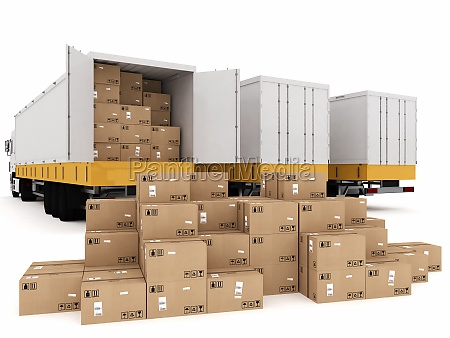 shipping with truck