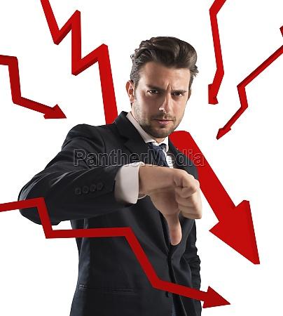 negative business statistics