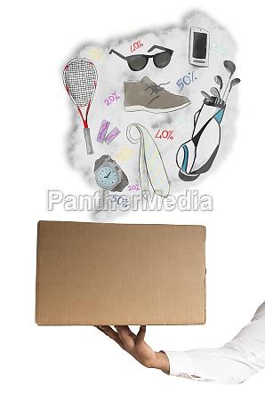 shop online package