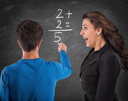 donkey student and desperate teacher