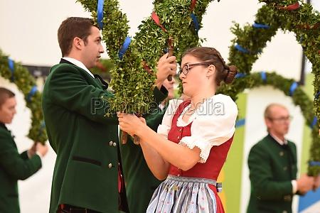 Öffentliche, aufführung, traditioneller, österreichischer, volkstänze, beim - 29871535