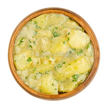 potato salad with oil and vinegar