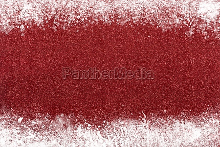 xmas sparkly red glitter