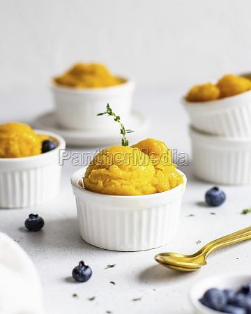 mango and citrus sorbet