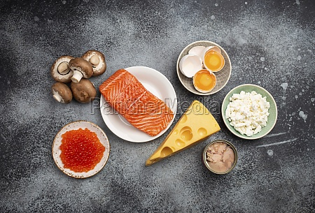 natural sources of vitamin d fish