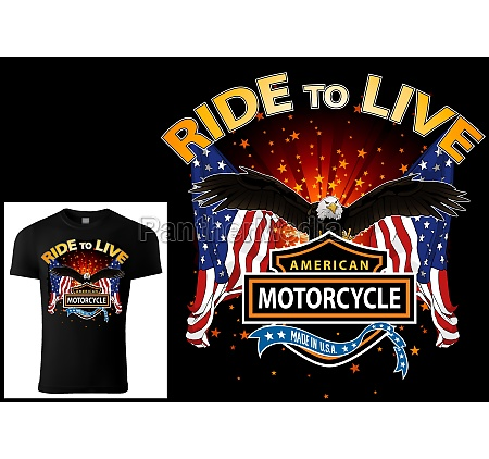 t shirt design for bikers with