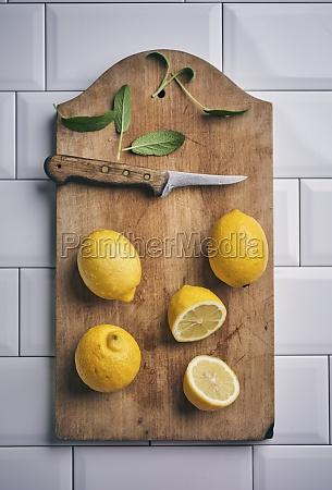 lemons and sage