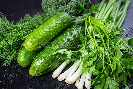 fresh organic vegetables healthy food vegetable