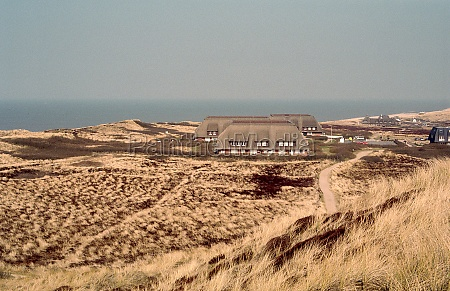 beach and dunes of sylt