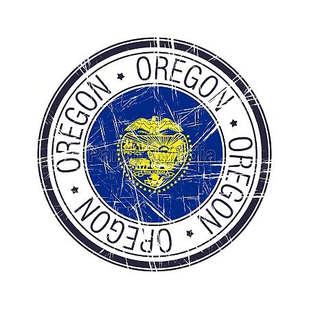 oregon rubber stamp