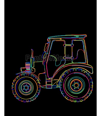 funky tractor