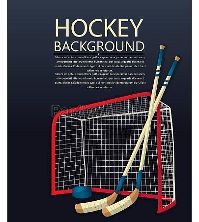 hockey vector template