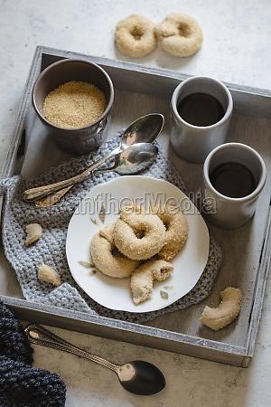 doughnut pastries for breakfast