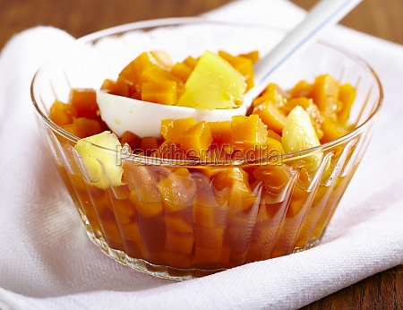pickled pumpkin with ginger