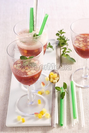 sangria andaluz made with red wine