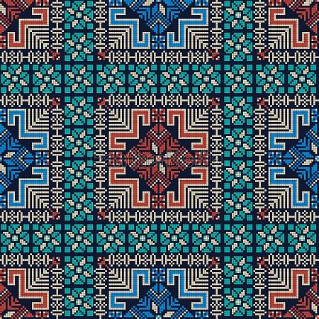 palestinian embroidery pattern 292