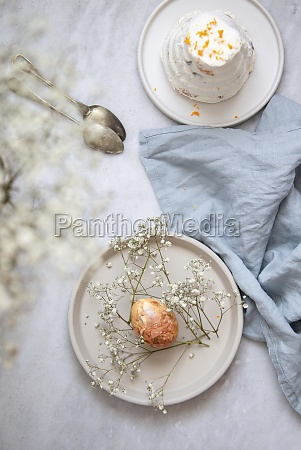 traditional russian and ukraine curd easter
