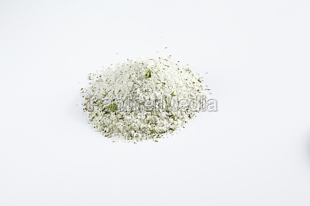 homemade herb salt with dried dill