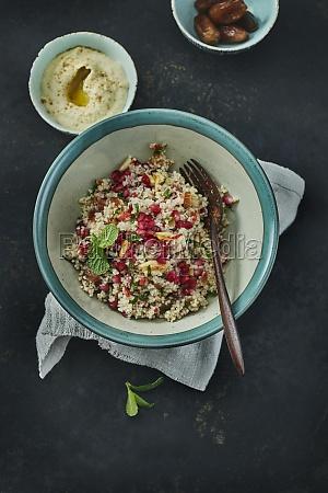 couscous pomegranate salad