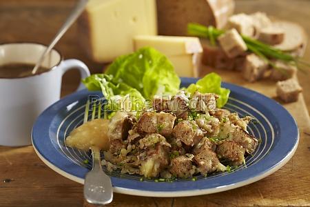 old maa appenzeller bread salad switzerland