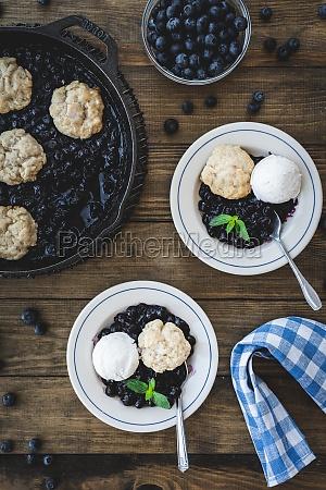 blueberry grunt blueberry dessert nova scotia