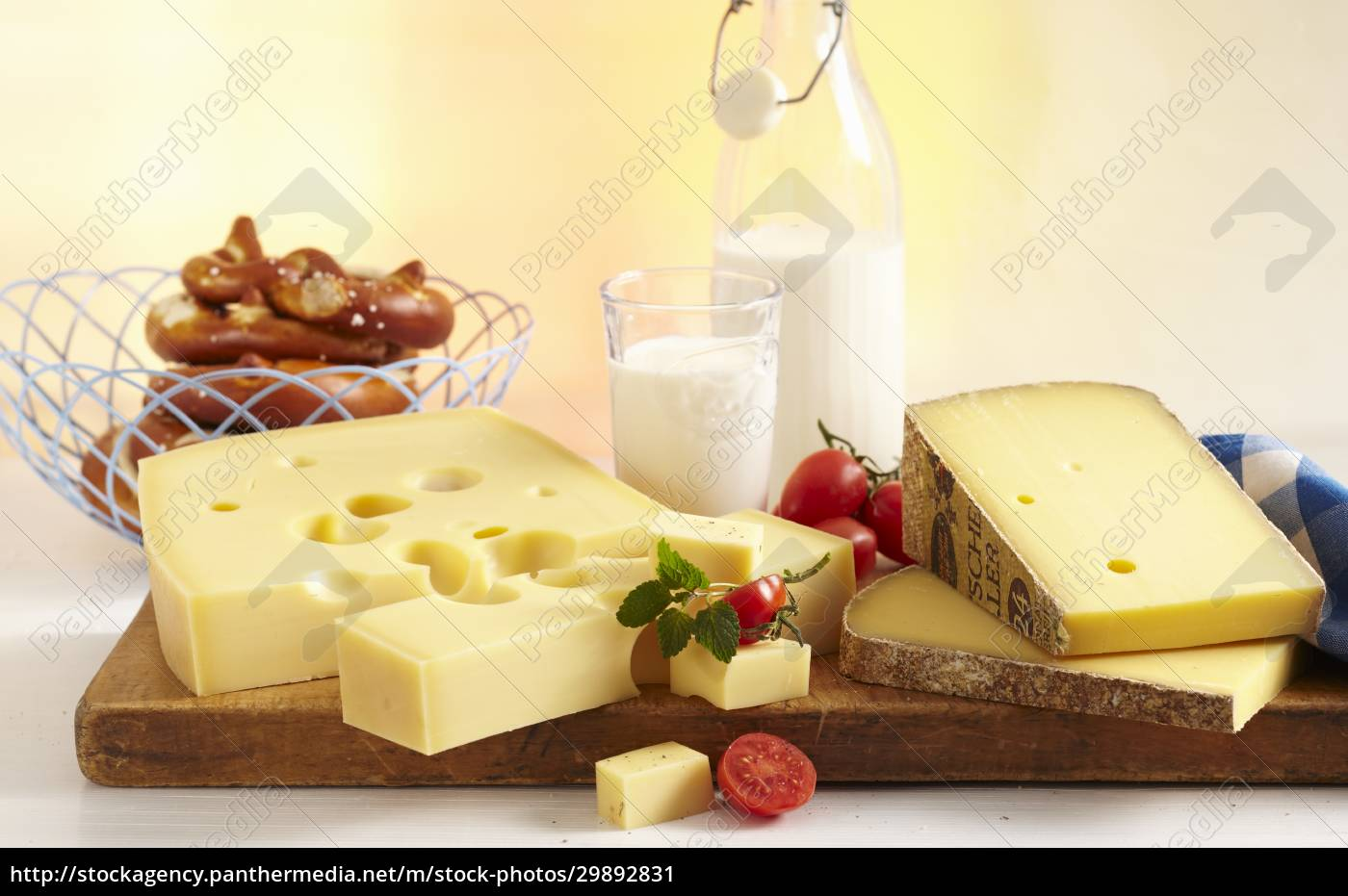 a, cheese, still, life, with, pretzels - 29892831